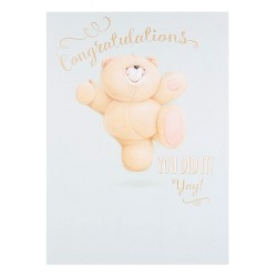 Hallmark Forever Friends Congratulations Card 'Yay' Extra Large