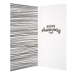"Hallmark Anniversary Card ""Time To Celebrate"" - Medium Greeting Card"