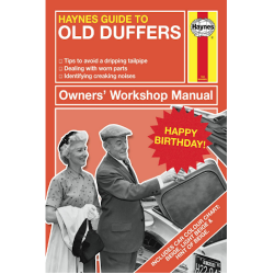 Haynes Guide To 'Old Duffers' Happy Birthday Card