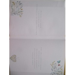 On Your 50th Anniversary Golden Wedding Anniversary Large Luxury Greeting Card By Ling Design