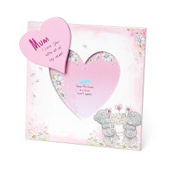 Me To You Mum Tatty Teddy Love Heart Photo Frame Mother's Day 2019