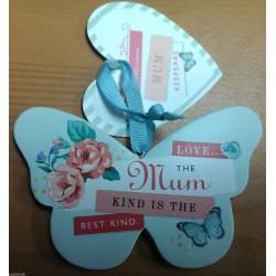 SPECIAL MUM HALLMARK Keepsake Butterfly Ceramic Plaque Appreciation Gift