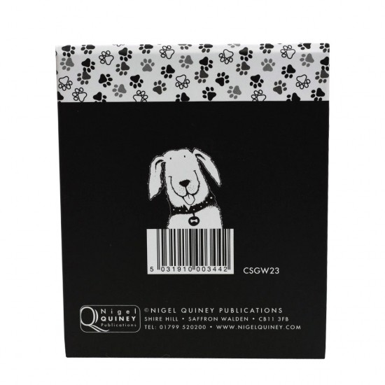 Nigel Quiney Stationery Puppy Dog Memo Pad (CSGW23)