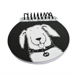 Nigel Quiney Stationery Puppy Dog Spiral Notepad (CSGW14)