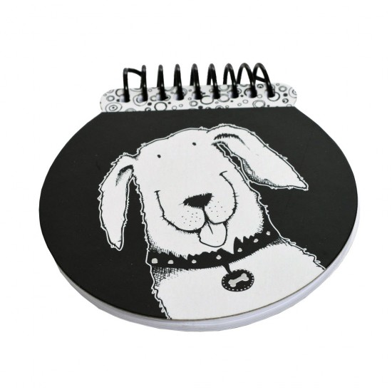 Nigel Quiney Stationery Puppy Dog Spiral Notepad (CSGW14)