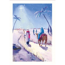 Religious Scenes at Christmas Box Assortment of 24 Xmas Cards New for 2020 by Ling Design