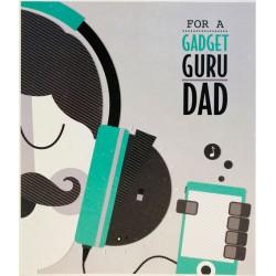 Gadget Guru Dad Happy Father's Day Greeting Card