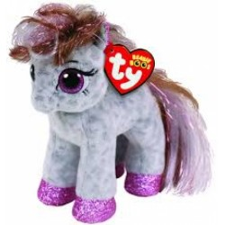 """TY Beanie Boo Cinnamon the spotted Pony Small 6"""" Soft Toy"""