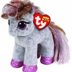 "TY Beanie Boo Cinnamon the spotted Pony Small 6"" Soft Toy"