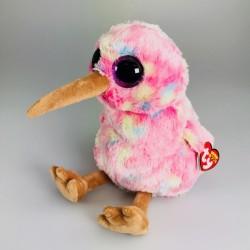 """TY Beanie Boo Kiwi the Bird Medium 13"""" Buddy Soft Toy"""
