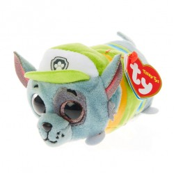 "Ty Beanie Boo PAW Patrol Rocky the Mongrel Dog Teeny 4"" Soft Toy Limited Edition"