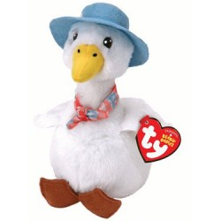 TY Beanie Babies  Jemima Puddle Duck by Peter Rabbit Plush 20cm