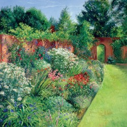 Path To The Secret Garden Blank Fine Art Print Greeting Card for Any Occasion - ART370