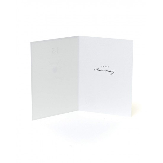 15th Crystal Anniversary UK Greetings Card