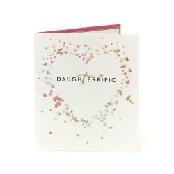 Daughterrific Daughter Birthday Greeting Card