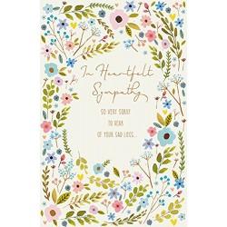 In Heartfelt Sympathy Greeting Card