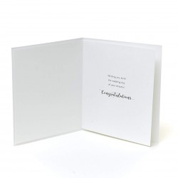 Mrs And Mrs Wedding Greeting Card