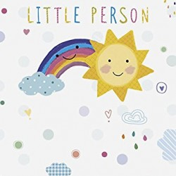 Poorly Little Person Get Well Soon Greeting Card
