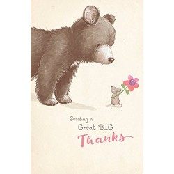 Sending A Great Big Thanks Greeting Cards