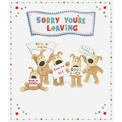 Boofle Large Sorry Your Leaving Greeting Card