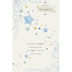 What Is A Grandson Happy Birthday Card