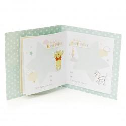 New Baby Greeting Card With Keepsake Memories Book