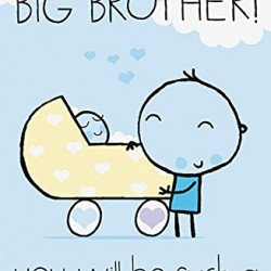 Wow You're A Big Brother New Baby Greeting Card