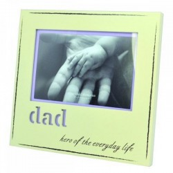 Dad Laser Frame With Words Engraved Of Dad Hero Of Everyday Life