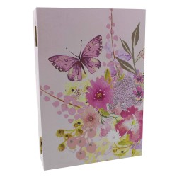 Louise Tiler Collection Wooden Book Key Box