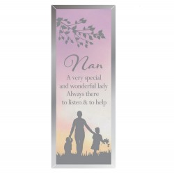 Reflections Of The Heart Nan Glass Mirror Standing Plaque