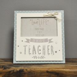 Best Teacher 5x3 Photo Frame By Widdop & Co