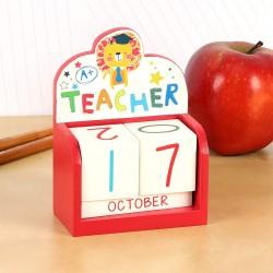Laura Darrington Teacher Perpetual Calendar