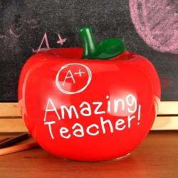 Juliana Apple Shaped Money Bank Amazing Teacher
