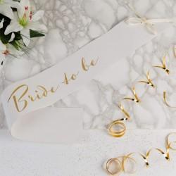 Amore Bridal Shower Hen Party Paper Sash