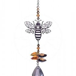 Crystal Fantasy Hanging Swarovski Suncatcher Bumble Bee
