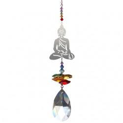 Buddha Chakra Fantasy Hanging Swarovski Sun-catcher Embellished with Crystals from Swarovski®