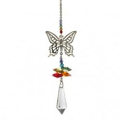 Crystal Fantasy Hanging Swarovski Suncatcher Rainbow Butterfly