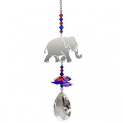INDIAN ELEPHANT Fantasy Hanging Swarovski Sun-catcher Embellished with Crystals from Swarovski®