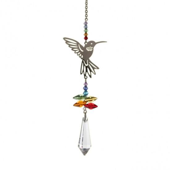 Hummingbird Fantasy Hanging Swarovski Sun-catcher Embellished with Crystals from Swarovski®