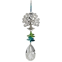 Crystal Fantasy Hanging Swarovski® Suncatcher Tree Of Life
