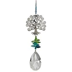 Tree Of Life Hanging Fantasy Charm Embellished with Swarovski® Crystal