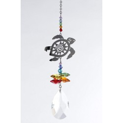Crystal Fantasy Hanging Swarovski® Suncatcher Turtle