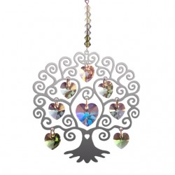 Pure Radiance Tree of Life -Spring Chakra Suncatcher Keepsake - Embellished with Crystals from Swarovski®