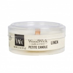 Linen Petite WoodWick Sampler 1.1oz 31g Scented Candle