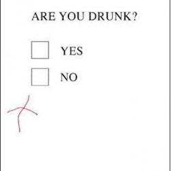 Genius At 18 Are You Drunk? Test Humorous Funny 18th Birthday Greeting Card