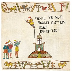 Don't Panic Got Reception - Humorous Card - Hysterical Heritage by Ian Blake