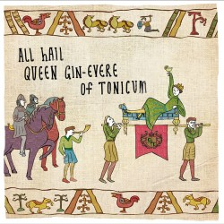 Hail Queen of Gin & Tonic - Humorous Card - Hysterical Heritage by Ian Blake