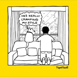 Window Watching Lockdown Funny Dog Humour Greeting Card New Normal - Off The Leash (085412)