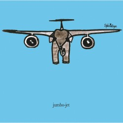 Jumbo Jet Elephant - Funny Humorous Blank Greeting Card by Spike Milligan - Woodmansterne