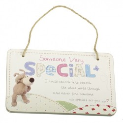 Boofle Someone Very Special Hanging Rectangle Plaque